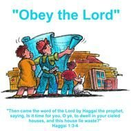 Obey The Lord drawing