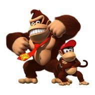 Donkey And Diddy Kong drawing