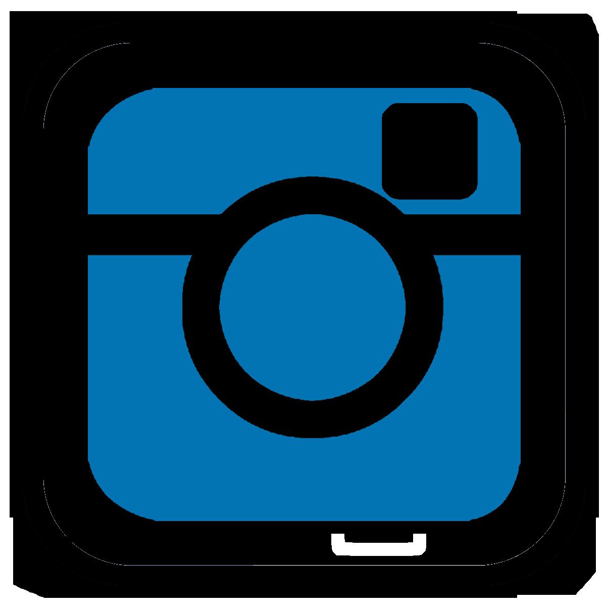 Black and white instagram logo free image