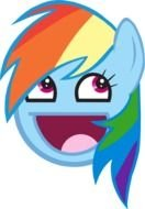 Cartoon pony face clipart