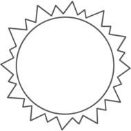 Sun Coloring Pages drawing