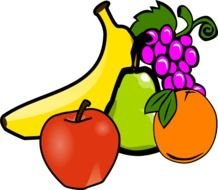 Clipart of the fruits