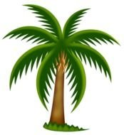 Palm Tree Panda Free Images clipart