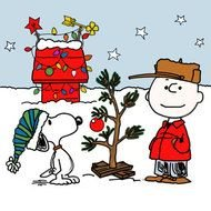 Charlie Brown Christmas drawing