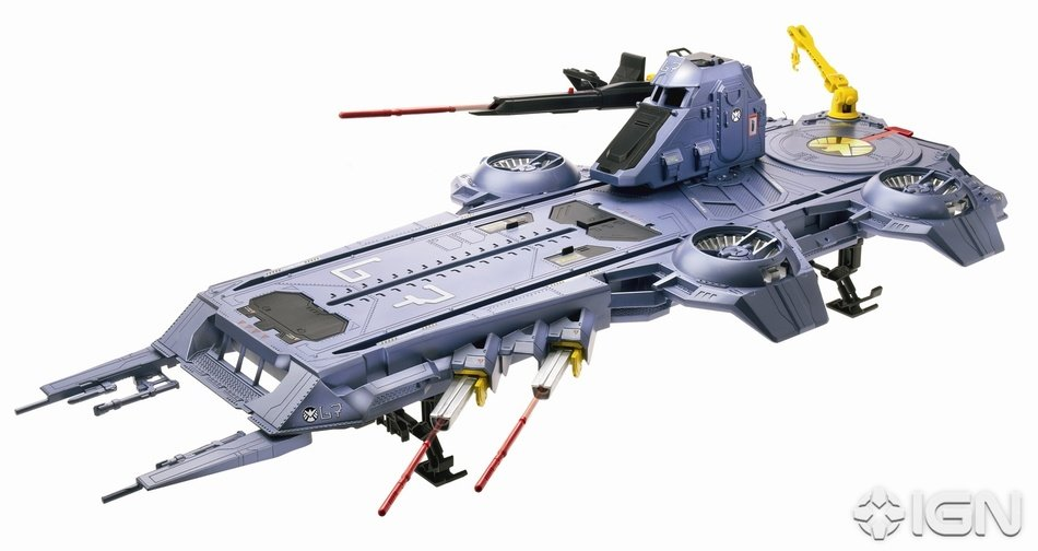 toy flying aircraft carrier