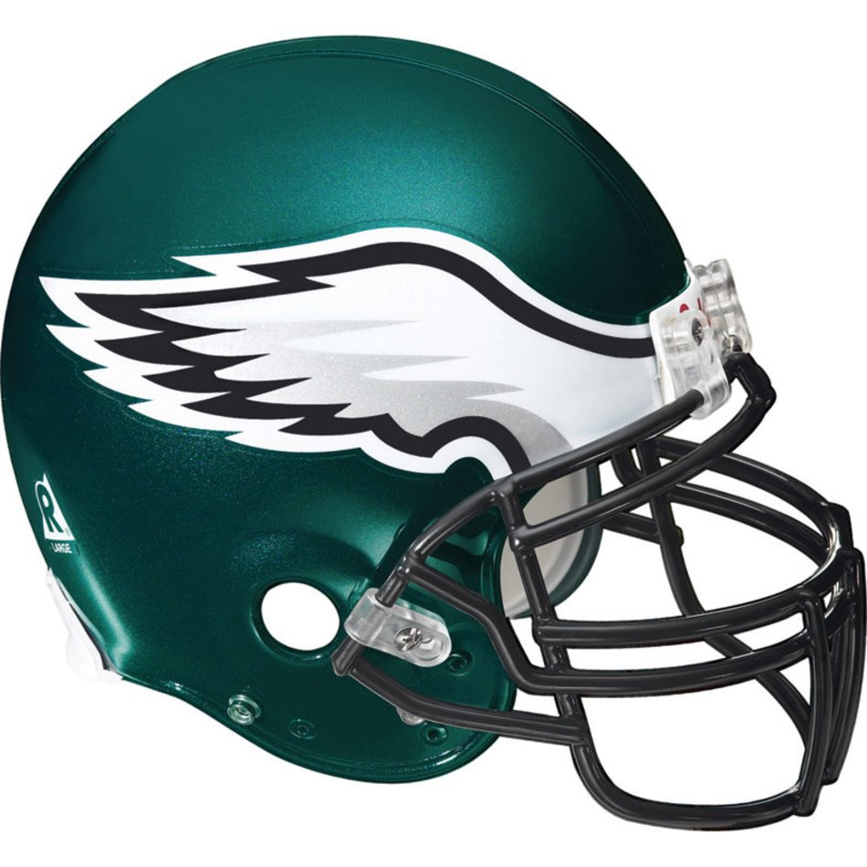 5f48711a Nfl Philadelphia Eagles Wall Accent Football Helmet Mural Stickers ...