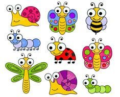 cartoon insects for children