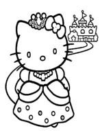 Clipart of a Hello Kitty