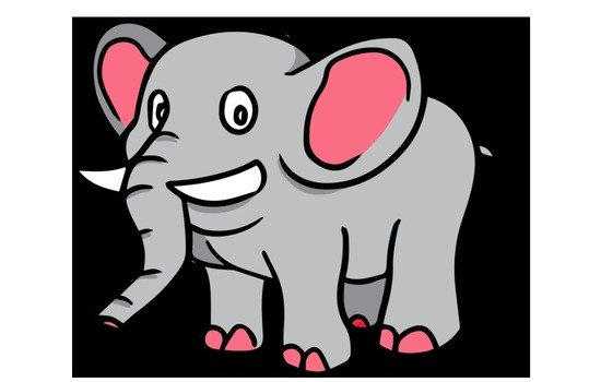 Dan Kami Rasa Cukup Sekian Dulu Untuk Gambar Kartun Gajah Lucu Yang