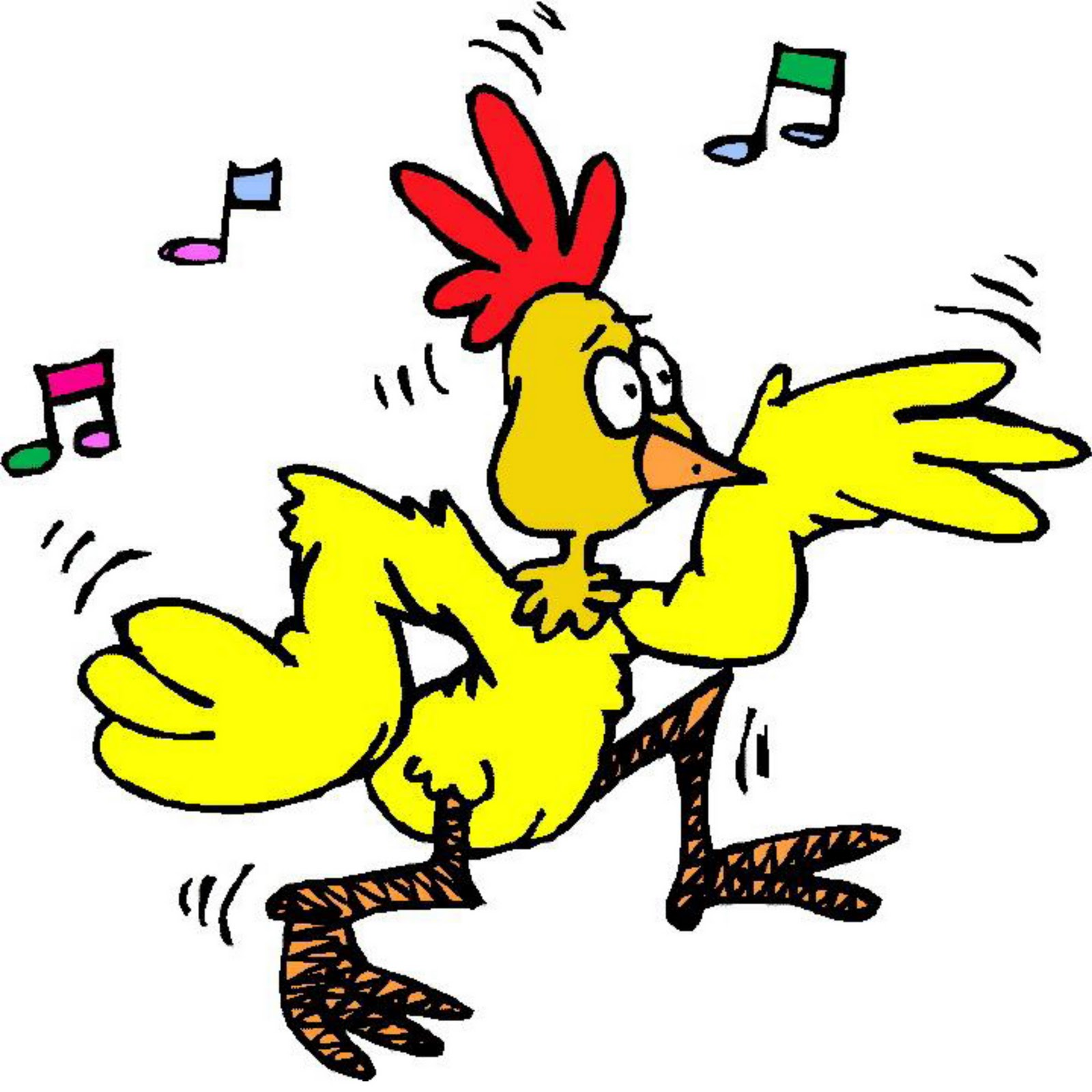 Cute chicken clipart free clipart images | Chicken clip art, Cartoon chicken,  Chicken drawing
