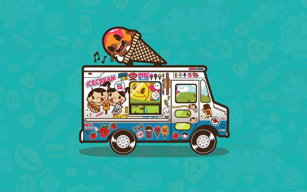 Image result for food truck cartoon