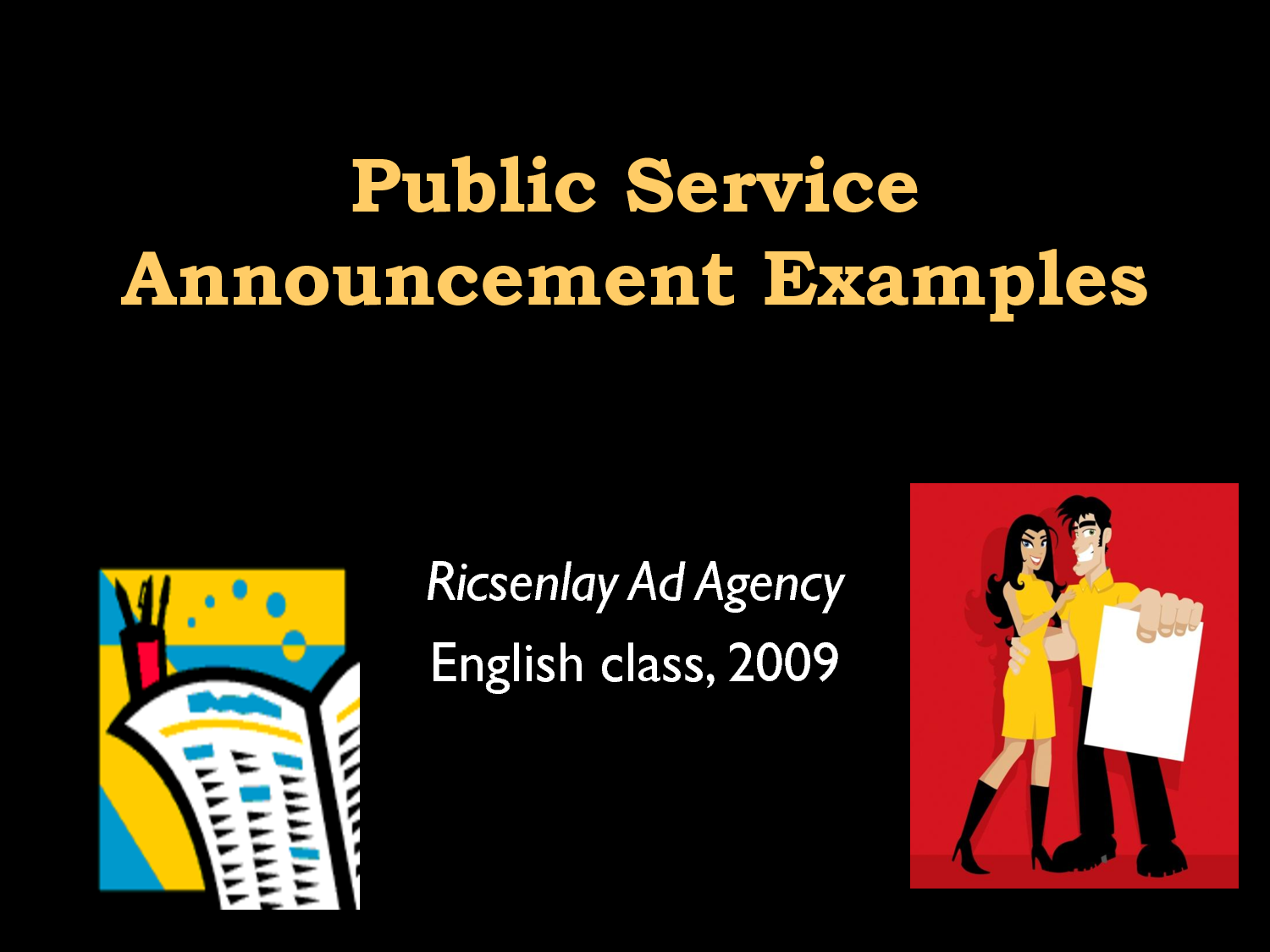 public service announcement examples powerpoint free image