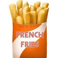 Clipart of French Fries