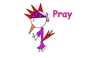 pray as picture for clipart