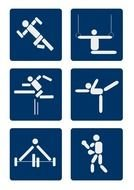Clipart of Ppe symbols