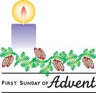 clipart of the First Sunday Of Advent
