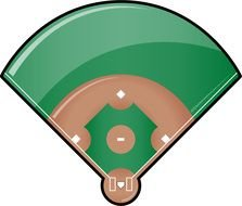 Baseball Field clipart drawing
