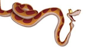 brown snake drawing