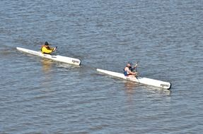 kayaking in competitions