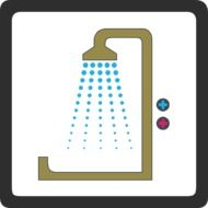 shower as a pictogram