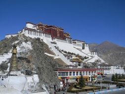 the Potala Palace scenery
