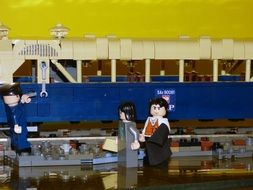 train and driver from lego