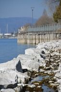 rocks on the shore of Lake Constance