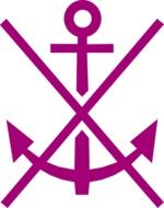 crossed anchor sign