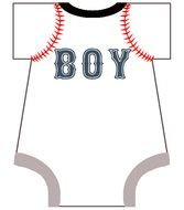 Sports Themed Baby Shower Invitation Template