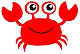 Cartoon Crab Clip Art