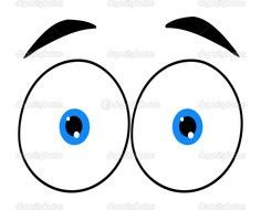Cartoon Eyes Clip Art N5