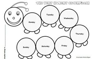 photograph regarding Very Hungry Caterpillar Printable Activities identified as Incredibly Hungry Caterpillar Functions Preschool no cost graphic
