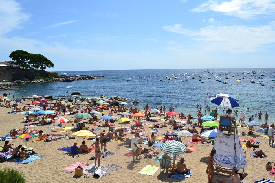 Beach in Costa Brava