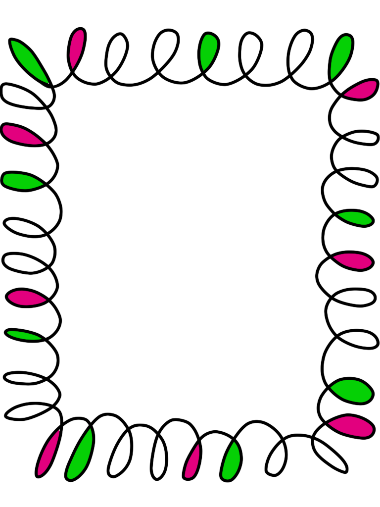 Christmas Page Borders.Free Christmas Page Borders For Microsoft Ms Word Clipart
