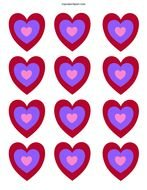 clipart of the heart icons