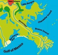 Gulf of Mexico Road Map