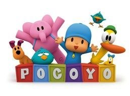 Clipart of Pocoyo sign