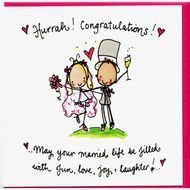Wedding Congratulations Cards 110jpg 801&215801 Funny Cartoon Happy