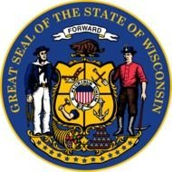 Wisconsin Flags Emblems Symbols Outline Maps