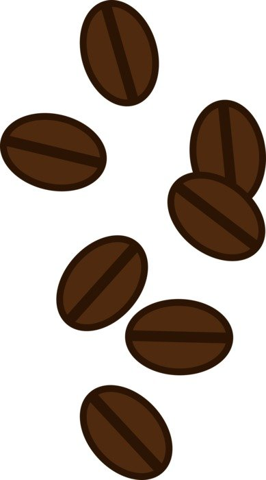 Coffee Beans vertical background