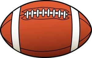 Clipart of American Football ball