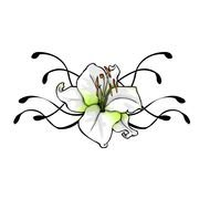 Tattoo Flower Designs drawing