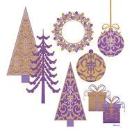 40 Christmas Tree Digital Scrapbooking