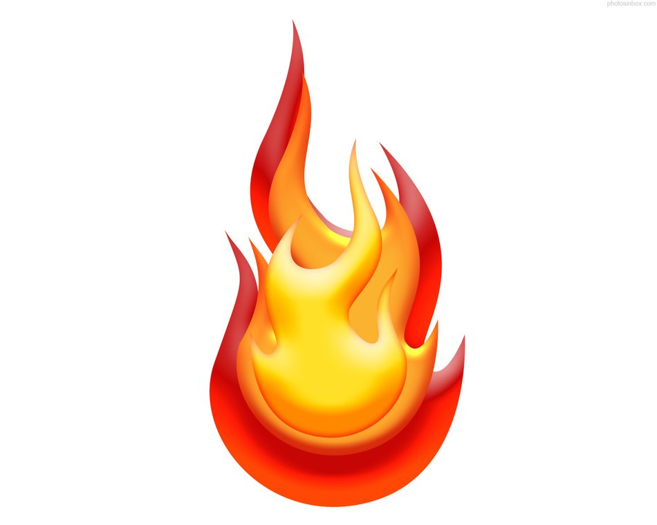 Flame clipart drawing