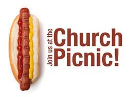 Clipart of Church picnic