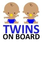 babies twins as a picture for clipart