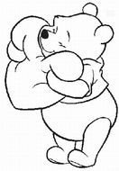 Winnie The Pooh Coloring Pages drawing