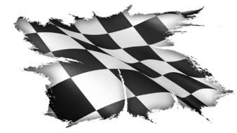 Checkered Flag Png Black And White Race