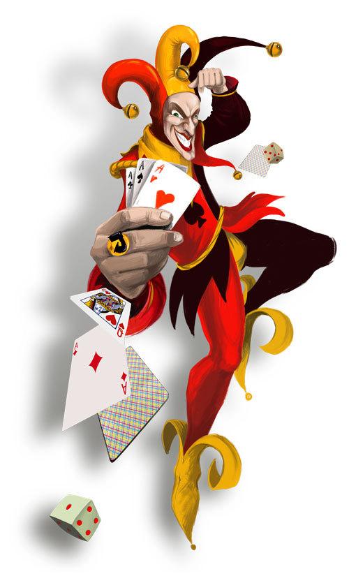 Joker Cartoon Card Face Hd Wallpapers On Picsfaircom Free Image
