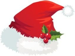 Clipart of Santa Claus Hat